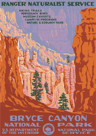 Bryce Canyon National Park - National Park Service Poster