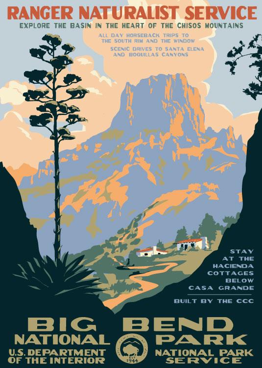Big Bend National Park Contemporary Design Ranger Doug