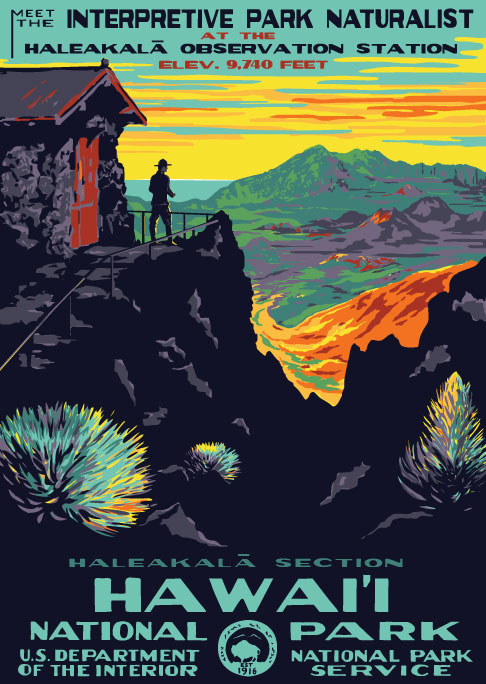 Exceptional Vintage National Park Posters Part - 11: Between 1935 And 1943 The WPAu0027s Federal Art Project Printed Over Two  Million Posters In 35,000 Different Designs To Stir The Publicu0027s  Imagination For ...
