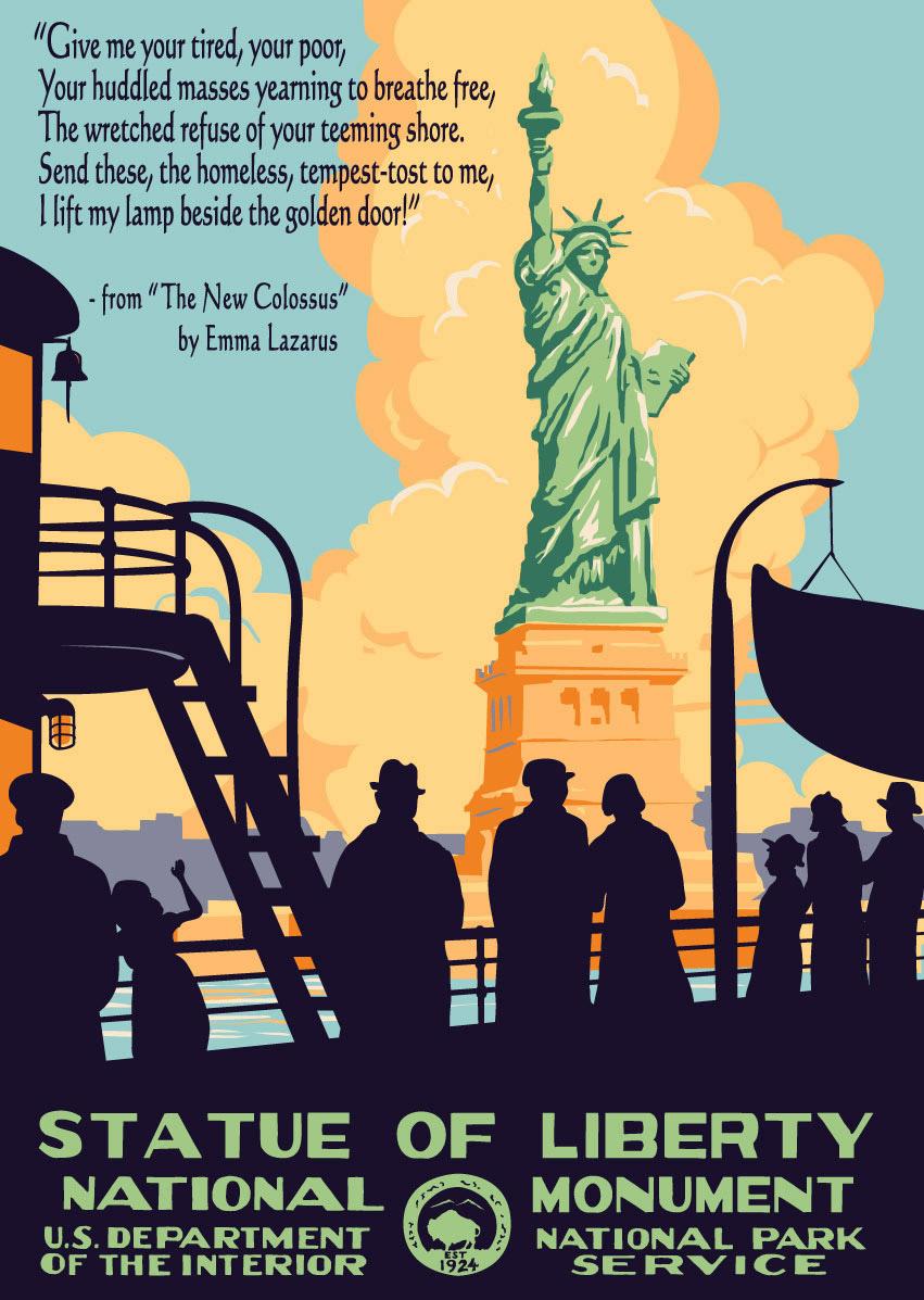 Statue Of Liberty Ranger Doug S Enterprises