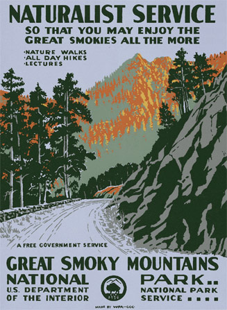 Great Smoky Mountain National Park Anniversary Edition