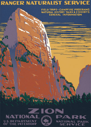 Zion National Park Ranger Doug S Enterprises