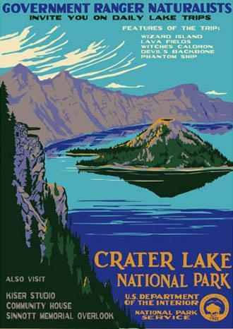 Crater Lake National Park Ranger Doug S Enterprises