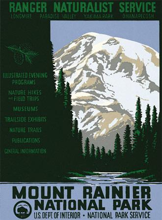 Mount Rainier National Park Ranger Doug S Enterprises
